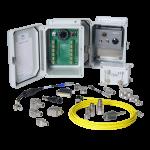 accelerometers, vibration sensors, cables, connectors