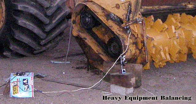 Heavy Equipment Balancing